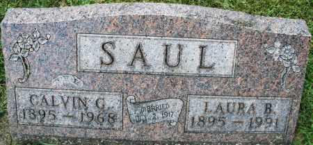 SAUL, CALVIN G. - Montgomery County, Ohio   CALVIN G. SAUL - Ohio Gravestone Photos