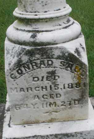 SAUL, CONRAD - Montgomery County, Ohio   CONRAD SAUL - Ohio Gravestone Photos