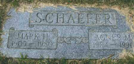 FOCKE SCHAEFER, AGNUS MARY - Montgomery County, Ohio | AGNUS MARY FOCKE SCHAEFER - Ohio Gravestone Photos