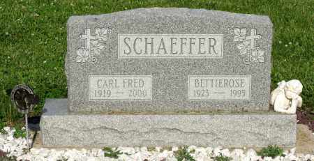 SCHAEFFER, BETTIEROSE - Montgomery County, Ohio | BETTIEROSE SCHAEFFER - Ohio Gravestone Photos
