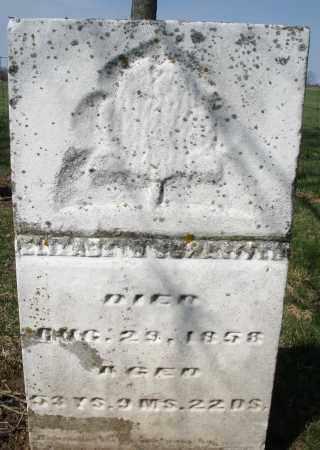 SCHAEFFER, ELIZABETH - Montgomery County, Ohio   ELIZABETH SCHAEFFER - Ohio Gravestone Photos