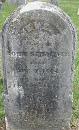 SCHAEFFER, EVE - Montgomery County, Ohio   EVE SCHAEFFER - Ohio Gravestone Photos