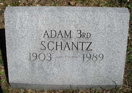 SCHANTZ, ADAM 3RD - Montgomery County, Ohio | ADAM 3RD SCHANTZ - Ohio Gravestone Photos