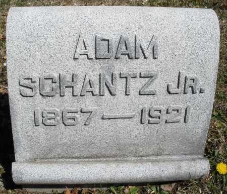 SCHANTZ, ADAM JR. - Montgomery County, Ohio | ADAM JR. SCHANTZ - Ohio Gravestone Photos