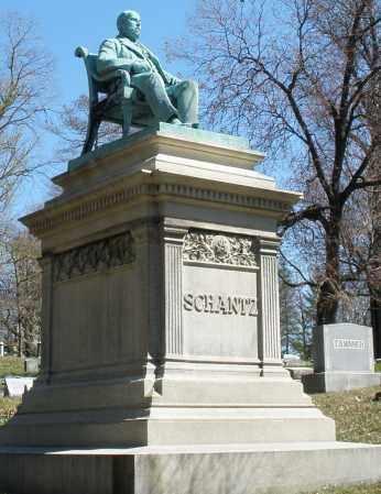 SCHANTZ, MONUMENT - Montgomery County, Ohio | MONUMENT SCHANTZ - Ohio Gravestone Photos