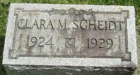 SCHEIDT, CLARA M - Montgomery County, Ohio   CLARA M SCHEIDT - Ohio Gravestone Photos