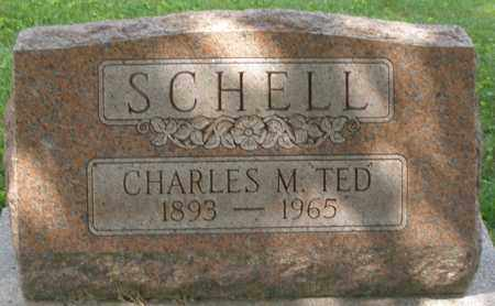 """SCHELL, CHARLES M. """"TED"""" - Montgomery County, Ohio 