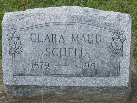 SCHELL, CLARA MAUD - Montgomery County, Ohio | CLARA MAUD SCHELL - Ohio Gravestone Photos