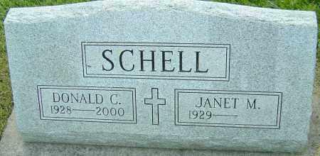 SCHELL, DONALD C - Montgomery County, Ohio   DONALD C SCHELL - Ohio Gravestone Photos