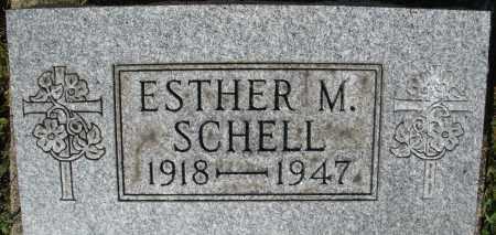 SCHELL, ESTHER M. - Montgomery County, Ohio | ESTHER M. SCHELL - Ohio Gravestone Photos