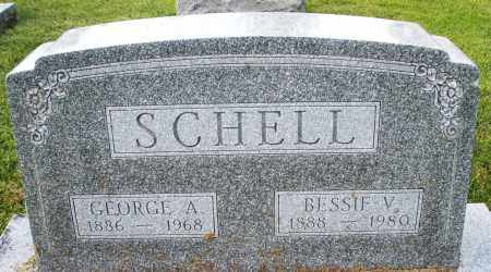 SCHELL, GEORGE A. - Montgomery County, Ohio | GEORGE A. SCHELL - Ohio Gravestone Photos