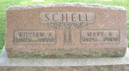 SCHELL, MARY A. - Montgomery County, Ohio | MARY A. SCHELL - Ohio Gravestone Photos