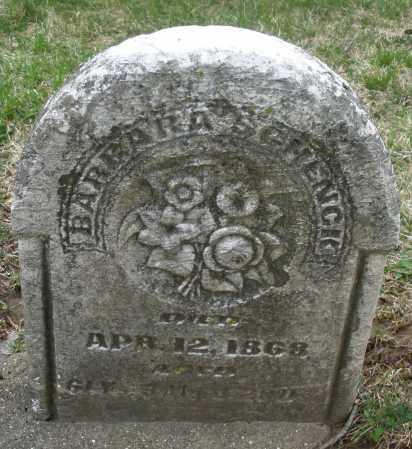 SCHENCK, BARBARA - Montgomery County, Ohio   BARBARA SCHENCK - Ohio Gravestone Photos