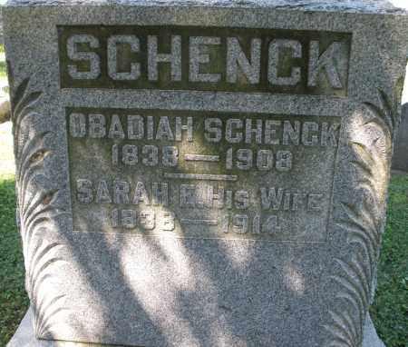 SCHENCK, OBADIAH - Montgomery County, Ohio   OBADIAH SCHENCK - Ohio Gravestone Photos
