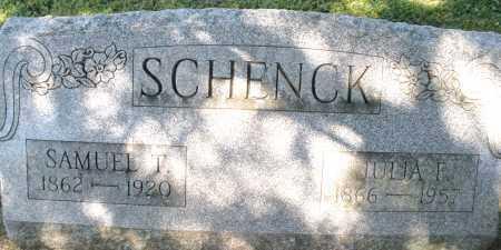 SCHENCK, JULIA F. - Montgomery County, Ohio | JULIA F. SCHENCK - Ohio Gravestone Photos