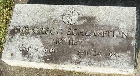 GREGG SCHLAEFFLIN, SUE - Montgomery County, Ohio   SUE GREGG SCHLAEFFLIN - Ohio Gravestone Photos