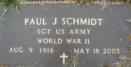 SCHMIDT, PAUL J. - Montgomery County, Ohio | PAUL J. SCHMIDT - Ohio Gravestone Photos