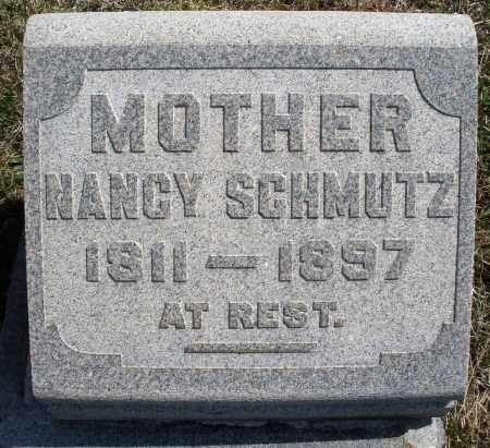 SCHMUTZ, NANCY - Montgomery County, Ohio   NANCY SCHMUTZ - Ohio Gravestone Photos