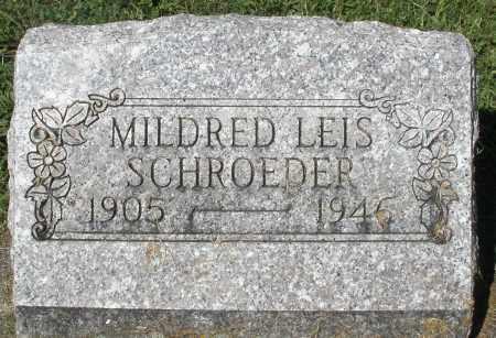 LEIS SCHROEDER, MILDRED - Montgomery County, Ohio | MILDRED LEIS SCHROEDER - Ohio Gravestone Photos