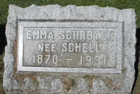 SCHROYER, EMMA - Montgomery County, Ohio | EMMA SCHROYER - Ohio Gravestone Photos