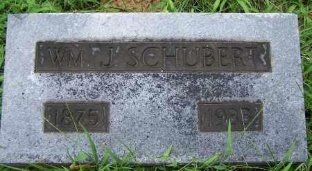 SCHUBERT, WM. J. - Montgomery County, Ohio   WM. J. SCHUBERT - Ohio Gravestone Photos