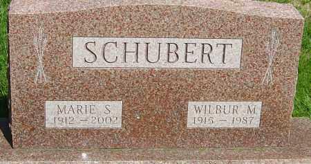 SCHUBERT, MARIE - Montgomery County, Ohio | MARIE SCHUBERT - Ohio Gravestone Photos