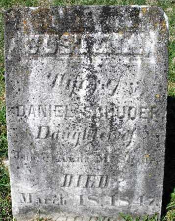 SHADE SCHUDER, JUSTINA - Montgomery County, Ohio | JUSTINA SHADE SCHUDER - Ohio Gravestone Photos