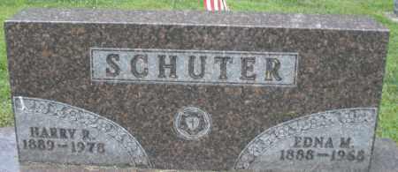 SCHUTER, EDNA M. - Montgomery County, Ohio | EDNA M. SCHUTER - Ohio Gravestone Photos