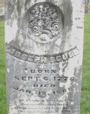 SCULL, JOSEPH - Montgomery County, Ohio   JOSEPH SCULL - Ohio Gravestone Photos