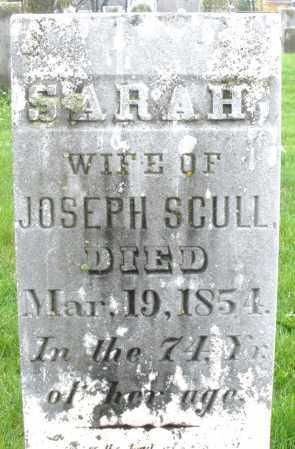 SCULL, SARAH - Montgomery County, Ohio | SARAH SCULL - Ohio Gravestone Photos