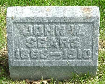 SEARS, JOHN W - Montgomery County, Ohio | JOHN W SEARS - Ohio Gravestone Photos