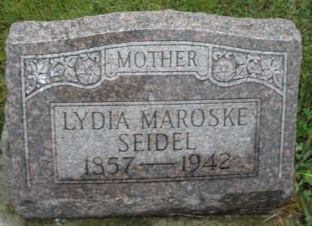 SEIDEL, LYDIA - Montgomery County, Ohio | LYDIA SEIDEL - Ohio Gravestone Photos