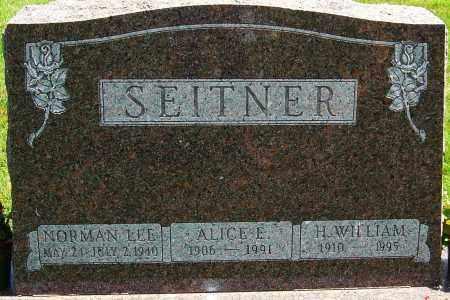 SEITNER, H WILLIAM - Montgomery County, Ohio | H WILLIAM SEITNER - Ohio Gravestone Photos