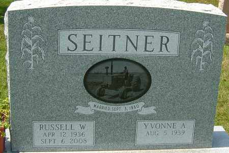 SEITNER, RUSSELL WINSTON - Montgomery County, Ohio | RUSSELL WINSTON SEITNER - Ohio Gravestone Photos