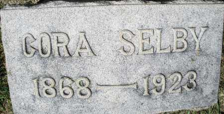 SELBY, CORA - Montgomery County, Ohio   CORA SELBY - Ohio Gravestone Photos