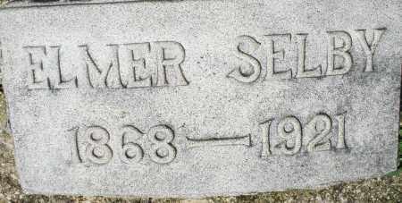 SELBY, ELMER - Montgomery County, Ohio | ELMER SELBY - Ohio Gravestone Photos