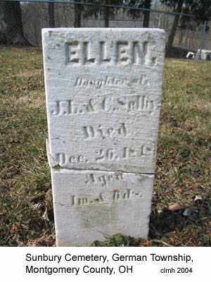 SELLIY, ELLEN - Montgomery County, Ohio | ELLEN SELLIY - Ohio Gravestone Photos