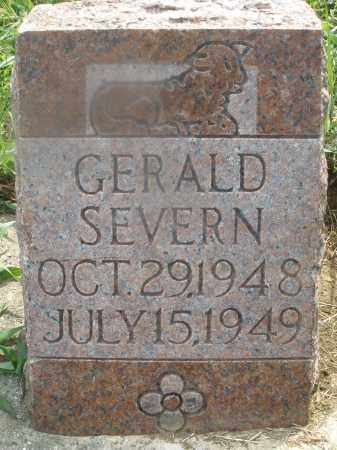 SEVERN, GERALD - Montgomery County, Ohio   GERALD SEVERN - Ohio Gravestone Photos