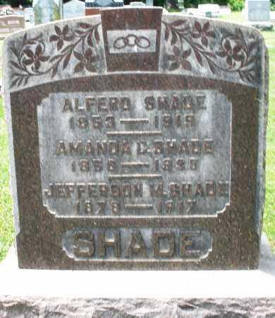SHADE, AMANDA C. - Montgomery County, Ohio | AMANDA C. SHADE - Ohio Gravestone Photos