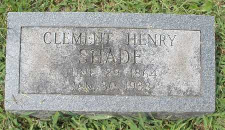 SHADE, CLEMENT HENRY - Montgomery County, Ohio | CLEMENT HENRY SHADE - Ohio Gravestone Photos