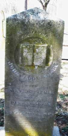SHADE, JOHN JACOB - Montgomery County, Ohio | JOHN JACOB SHADE - Ohio Gravestone Photos