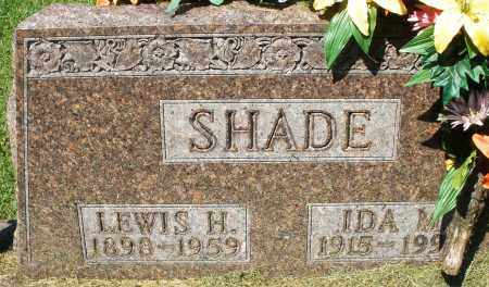 SHADE, LEWIS H. - Montgomery County, Ohio | LEWIS H. SHADE - Ohio Gravestone Photos