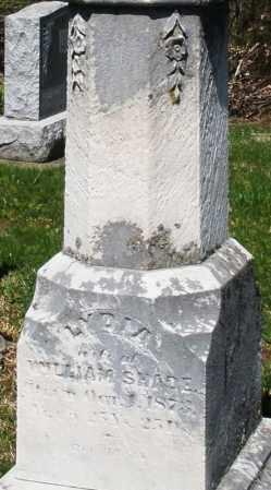 SHADE, LYDIA - Montgomery County, Ohio | LYDIA SHADE - Ohio Gravestone Photos