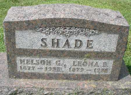 SHADE, LEONA B. - Montgomery County, Ohio | LEONA B. SHADE - Ohio Gravestone Photos