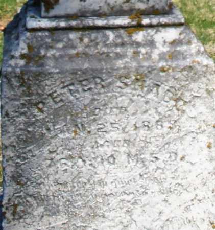 SHADE, PETER - Montgomery County, Ohio | PETER SHADE - Ohio Gravestone Photos