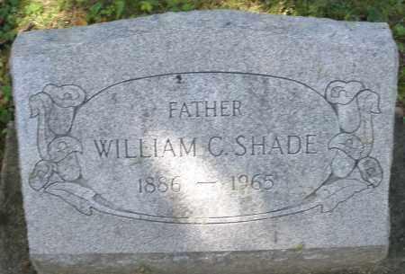 SHADE, WILLIAM C. - Montgomery County, Ohio | WILLIAM C. SHADE - Ohio Gravestone Photos