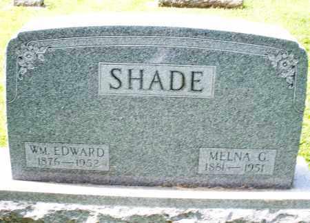SHADE, WILLIAM EDWARD - Montgomery County, Ohio   WILLIAM EDWARD SHADE - Ohio Gravestone Photos