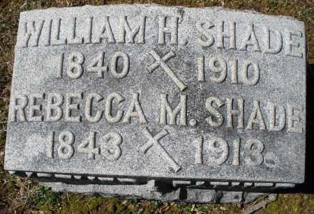 SHADE, WILLIAM H. - Montgomery County, Ohio | WILLIAM H. SHADE - Ohio Gravestone Photos