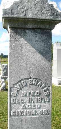 SHAFER, DAVID - Montgomery County, Ohio   DAVID SHAFER - Ohio Gravestone Photos