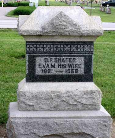 SHAFER, EVA M. - Montgomery County, Ohio | EVA M. SHAFER - Ohio Gravestone Photos